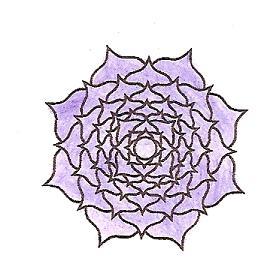 Crown Chakra Symbol