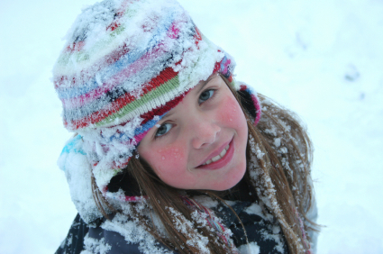 girl-snow