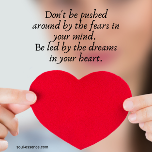 Don't be pushed around by fear